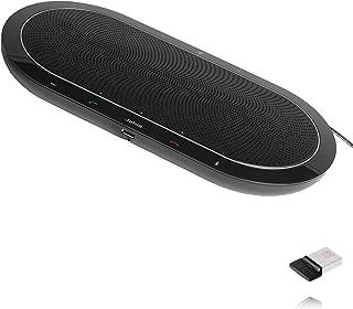 Jabra Speak 810 USB Bundle - USB Dongle Included - Conference Room Speakerphone | Bluetooth, NFC, 3.5mm inputs | Compatible with UC, Softphones, Smartphones, Tablet, PC | UC Version