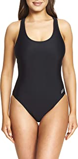 """Zoggs Women's Sonicback Women's Coogee Sonicback Swimming Costume - Black, 32"""" Inch"""