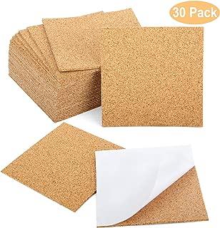 Blisstime 30 Pcs Self-Adhesive Cork Sheets 4