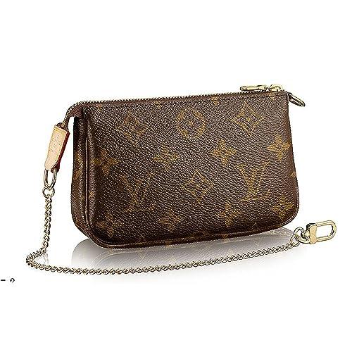 563b6d4b12a Louis Vuitton Monogram Canvas Mini Pochette Accessoires M58009