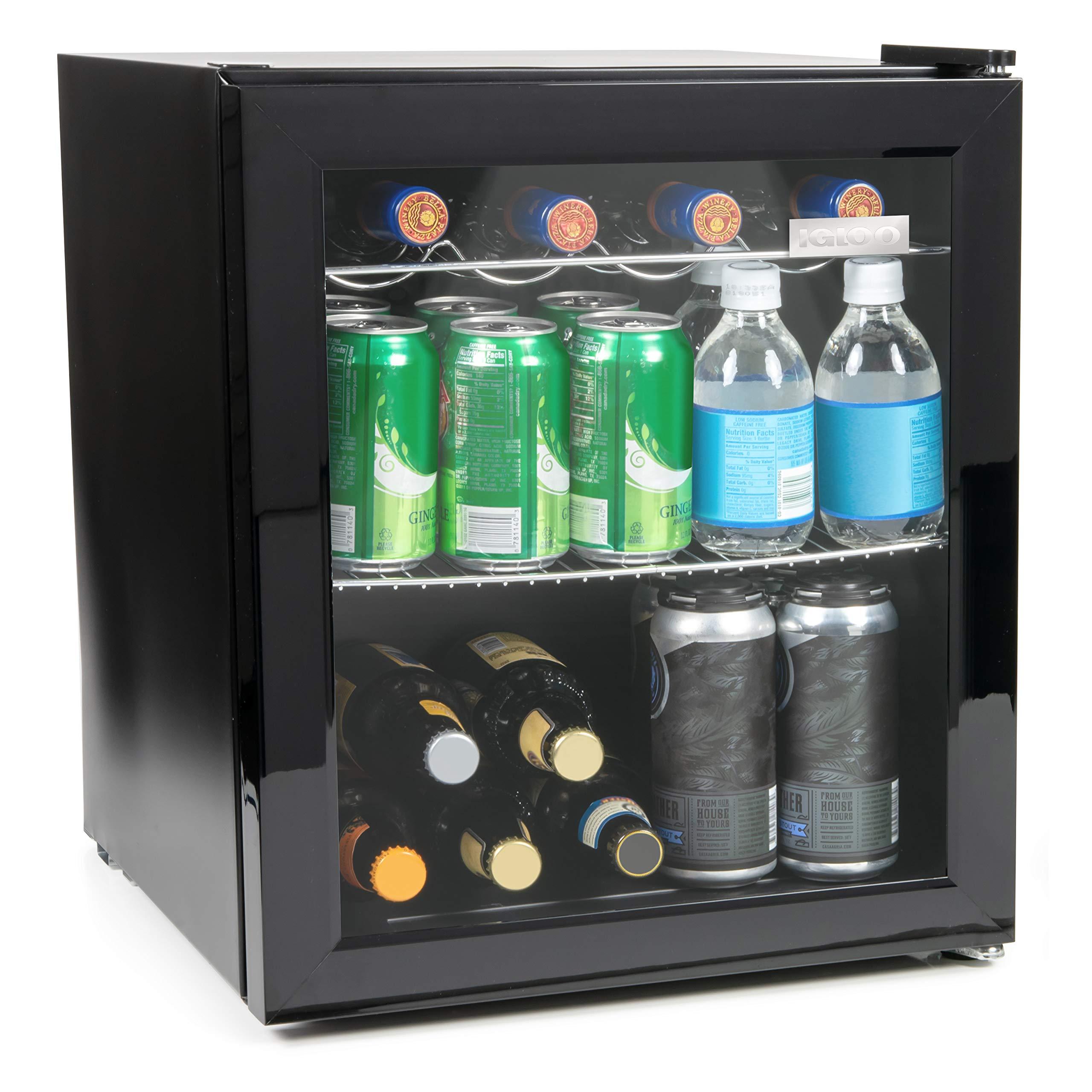 Igloo IBC16BK 15 Wine Beverage Refrigerator