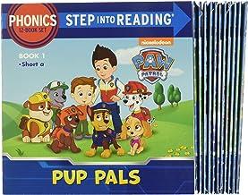 Phonics Patrol! (PAW Patrol): 12 Step into Reading Books