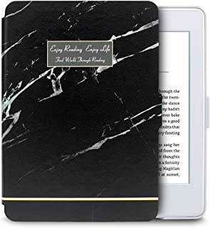 WALNEW Amazon Kindle Paperwhite Case Lightest and Thinnest Premium Leather Smart Protective Cover for Kindle Paperwhite wi...