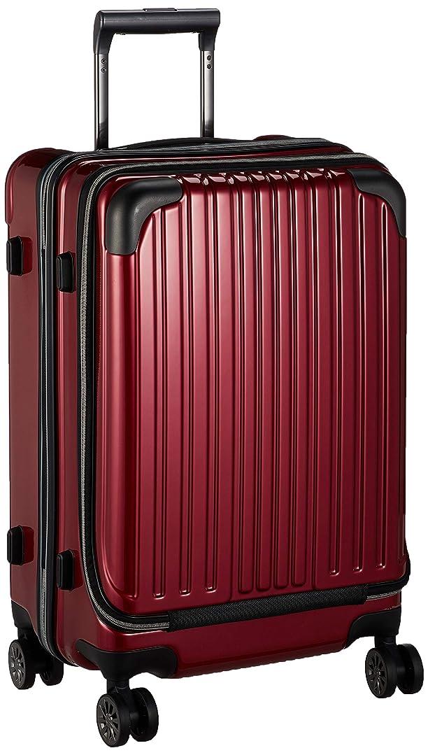[ワイズリー] スーツケース 超軽量双輪スーツケース フロントオープン 22インチ コーナーパッド付き TSAロック 49L 55 cm 4.3kg 338-2302
