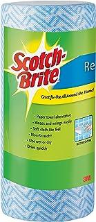 Scotch-Brite Multi-Purpose Cloth Wipes, 40-Wipes/Roll