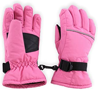 Kids Winter Gloves - Snow & Ski Waterproof Gloves for...