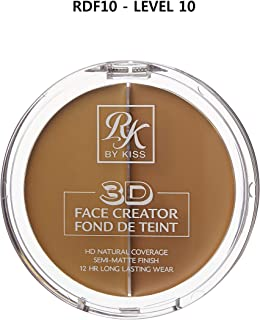3D FACE CREATOR (RDF10) - Ruby Kisses HD 2 Color Foundation + Concealer