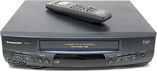 Panasonic PV-8451 VCR Video Cassette Recorder 4-Head Hi-Fi Stereo Omnivision VHS Player. VCR-Plus+. Works Great. Energy Star Rated Device. Works Awesome! product image