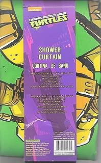 Nickelodeon Teenage Mutant Ninja Turtles Shower Curtain - 72 x 72 - Fabric Shower Curtain