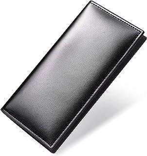 [フロックス] 長財布 メンズ 薄い 本革 革 ブランド 人気 財布 レザー 薄型 ykkファスナー 男子 お札 カード 小銭 おしゃれ 二つ折り長財布