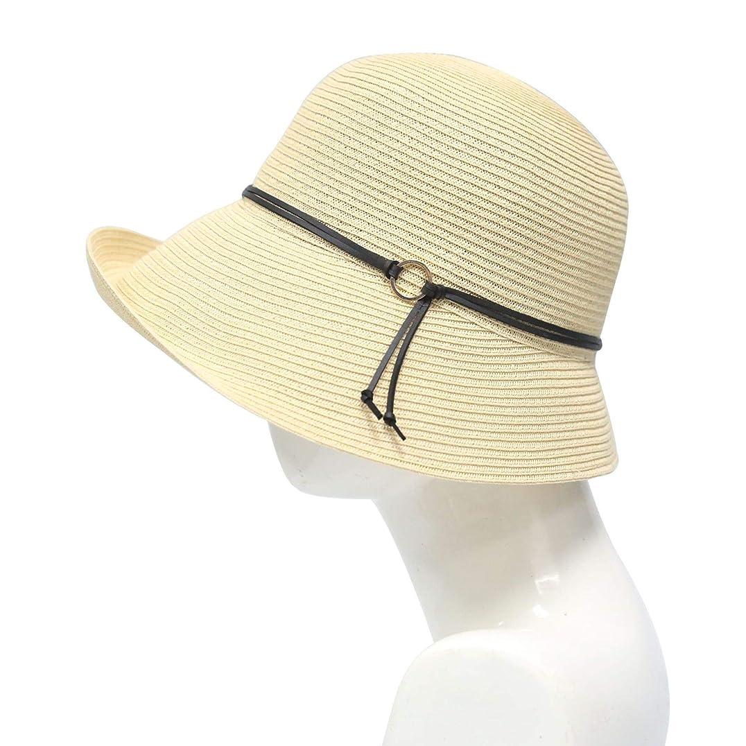 麦わら帽子屋外旅行バイザー快適なビーチ太陽の帽子の女性