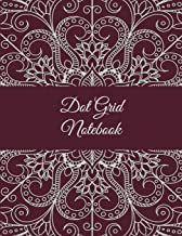 """Dot Grid Notebook: Vintage Mandala, 8.5"""" X 11"""" Dot Grid Sketchbook Journal, Daily Notebook to Write In, Dotted Journal"""