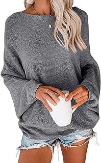 Women's Oversized V Neck Fuzzy Sherpa Fleece Pullover Sweaters Jumper