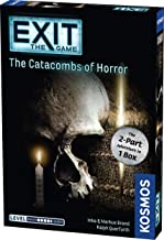 Exit: The Catacombs of Horror   Exit: The Game - A Kosmos Game from Thames & Kosmos   Card-Based, 2-Part at-Home Escape Room Experience for 1 to 4 Players, Ages 16+