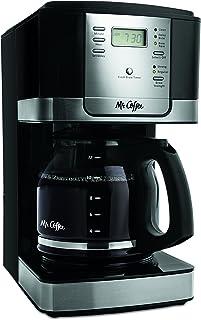 Mr. Coffee JWX27-NPA 12-Cup Progammable Coffeemaker, Black