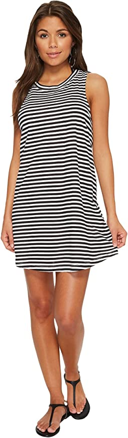Bright White Basic Stripe