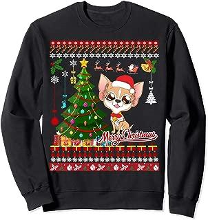 Chihuahua Dog Christmas Ugly Sweater Chihuahua Xmas Gift Sweatshirt
