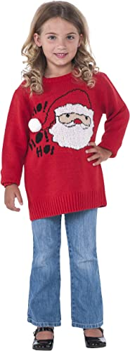 (Small, One Farbe) - Rubie's Costume Santa Ugly Christmas Sweater Costume, One Colour, Small