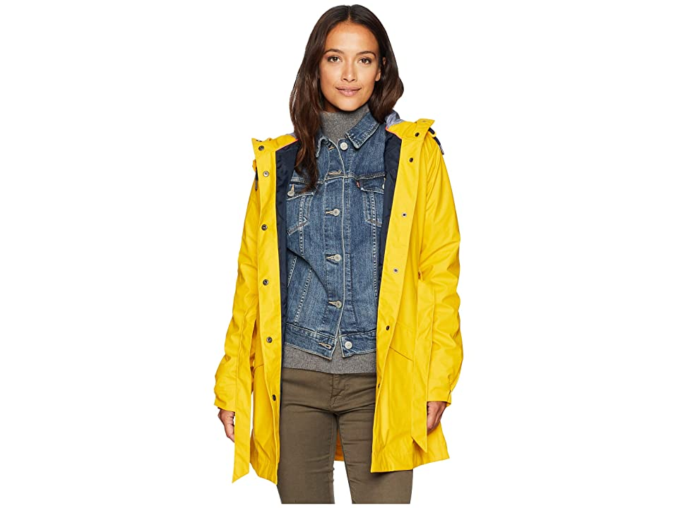 Helly Hansen Kirkwall Rain Coat (Essential Yellow) Girl