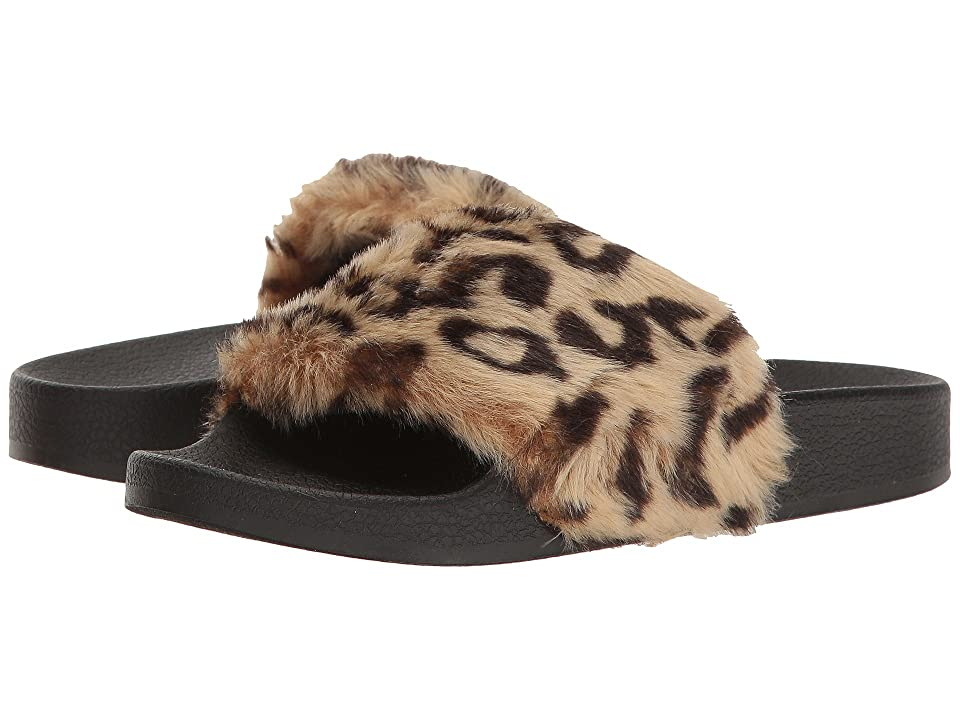 Steve Madden Kids Jsoftey (Little Kid/Big Kid) (Leopard) Girl