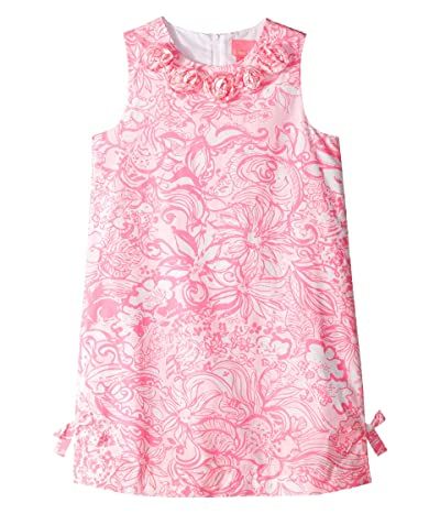 Lilly Pulitzer Kids Little Lilly Classic Shift (Toddler/Little Kids/Big Kids) (Pink Tropics Tint Bunny Hop) Girl