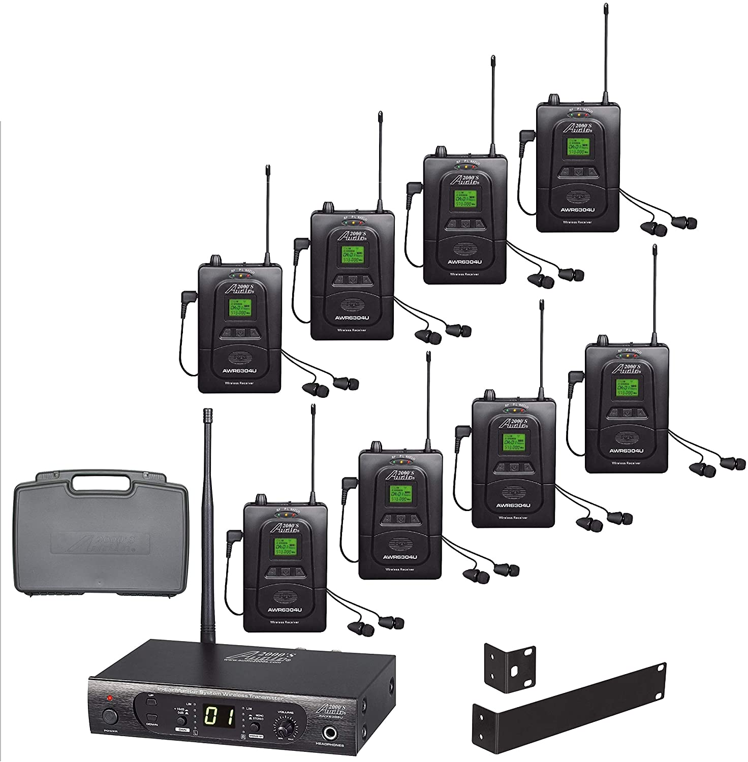 Audio2000'S AWM630CU UHF Soldering 100 Wireless Selectable Don't miss the campaign Frequency in-Ea