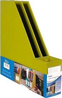 Mead Labeled Desktop File, Green (72306)