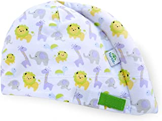Tortle Newborn Hat, Adjustable Head Support Helps to Fix Flat Head Syndrome, Head and Neck Positioner, Animal Party, Small