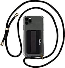 KEEBOS Phone Necklace Holder, Crossbody Case - Adjustable Cord Lanyard Strap and Card Pocket for iPhone 11 Pro