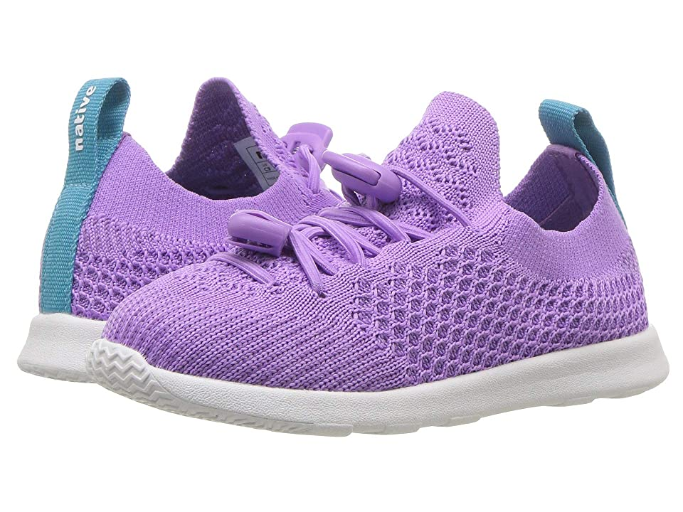 Native Kids Shoes AP Mercury Liteknit (Toddler/Little Kid) (Lavender Purple/Shell White) Kids Shoes