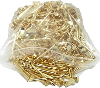 PROTEE Golf Tees (500-Pack), Gold Satin