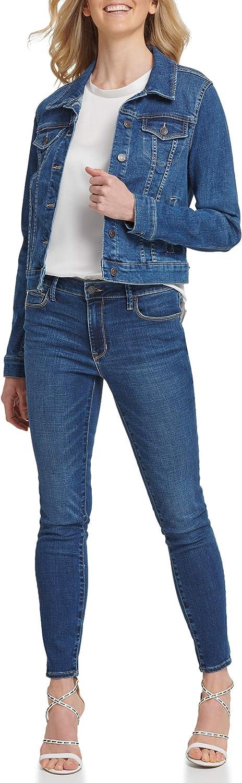 DKNY SPORTSWEAR Women's Missy Trucker Jacket
