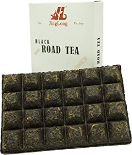 Road Black Tea - Special edition for travelers - Black Tea Brick divided in 24 squares (48 cups) travel design - Chinese Red Tea - 3.6 ounce/100g