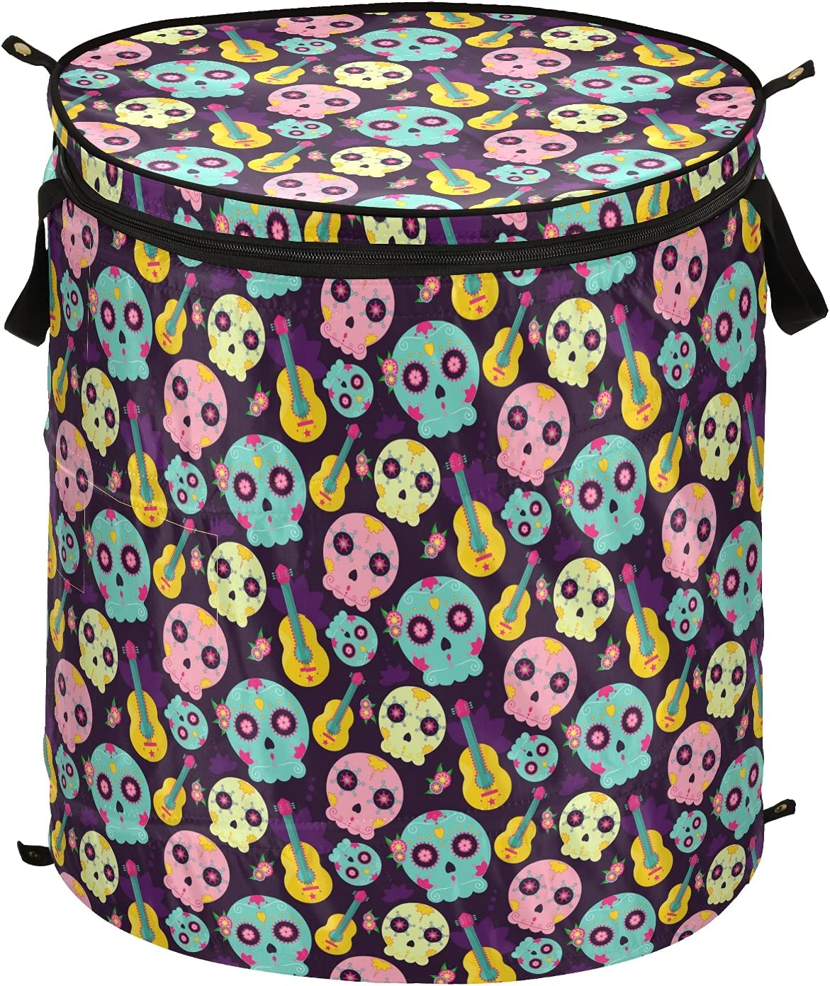 Dead Choice Day Sugar Skull Halloween Pop Up Laundry Fo Lid with Hamper Max 83% OFF
