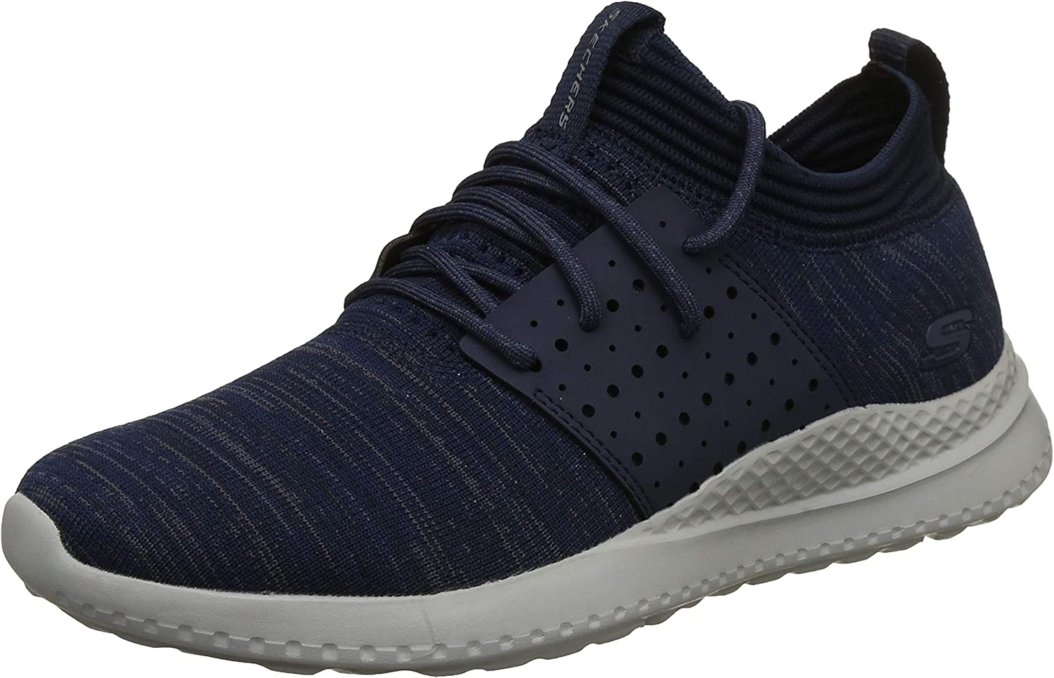 Skechers Mens Black Matera Knocto Trainers