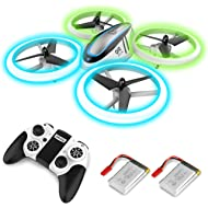 Q9 Drones for Kids,RC Drone with Altitude Hold and Headless Mode,Quadcopter with Blue & Green...
