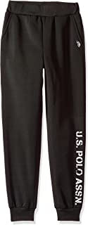 U.S. Polo Assn. Boys' Fleece Jogger Pant,Faded Logo...