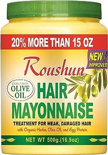 Roushun Olive Mayonnaise Hair Cream - 500 ml