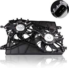 MOSTPLUS Front Radiator Cooling Fan Assembly for 2005-2008 Dodge Magnum; 2005-2009 Chrysler 300; 2006-2009 Charger Replaces 5137713AA