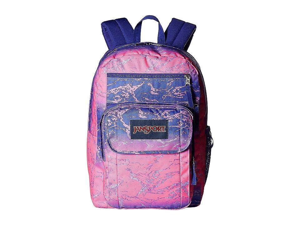 JanSport Digital Student (Ombre Splash) Backpack Bags