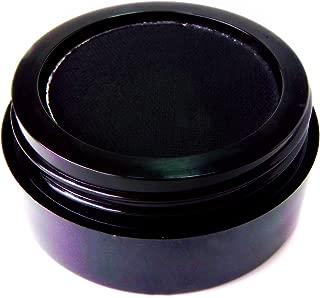 Pure Ziva Matte Black Wet Dry Pressed Powder Cake Eyeliner Eyeshadow, Gluten Free, No Animal Testing, Cruelty Free & Vegan