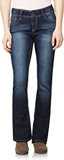 Women's Curvy Bootcut Jeans Instastretch Pants