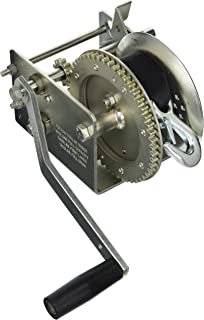 Fulton 142415 Dual Speed Winch with 20' Strap-2600 lbs. Capacity