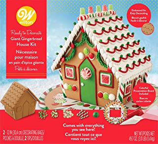 Wilton Ready-to-Decorate Giant Gingerbread House Decorating Kit