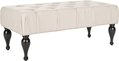 Safavieh Mercer Collection Rupert Bench, Taupe
