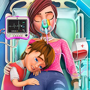 Virtual Mother Surgery Simulator: ER Doctor Game for Kids