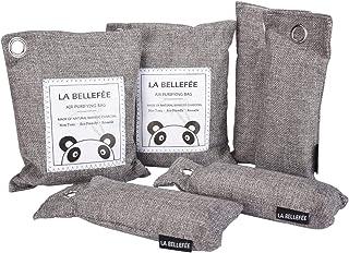 LA BELLEFÉE Sac de Carbone de Bambou, Sac Purificateur d'Air Désodorisant au Carbone de Bambou, Sac Désodorisant, Purifier...