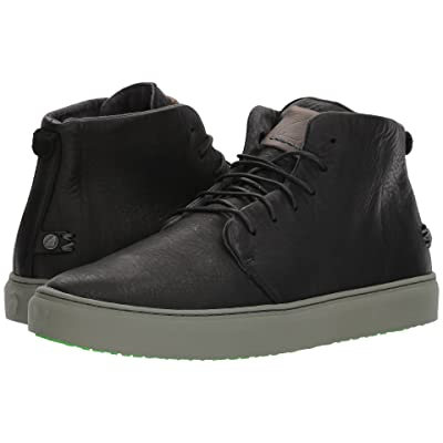 Satorisan Bywater-Pull Up Leather (Black Stormy) Men