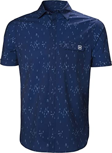 Helly Hansen OYA - T-Shirt Manches Courtes Homme - Vert 2019 Tshirt Manches Courtes