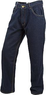 ScorpionExo Covert Jeans Men`s Reinforced Motorcycle Pants (Blue, Size 36)